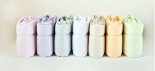 Obrázek Mantinel do postýlky 360x30 cm - s volánkem - Mix barev