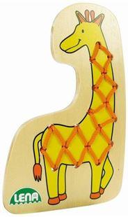 Obrázek Navlékací obrázek - Žirafa