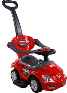 Obrázek Odrážedlo Mega Car s vodící tyčí