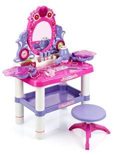 Obrázek Dětský toaletní stolek s otočným zrcadlem