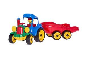 Obrázek Traktor s přívěsem