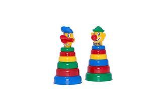 Obrázek z Dětská pyramida Kačer/Klaun
