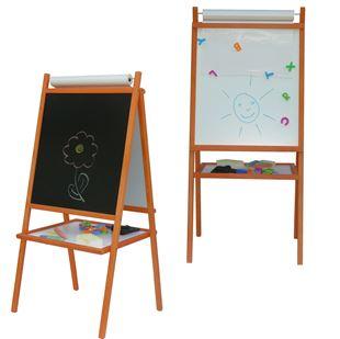 Obrázek Dětská magnetická tabule 3v1 barevná - výška 94 cm