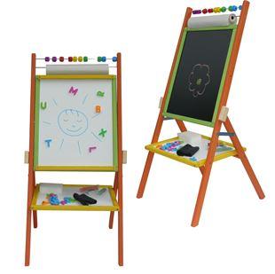 Obrázek Dětská otočná tabule 4v1 barevná - výška 87 cm