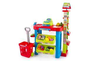 Obrázek Dětský supermarket s nákupním košíkem