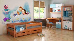 Obrázek Dětská postel - MIX - 140x70cm