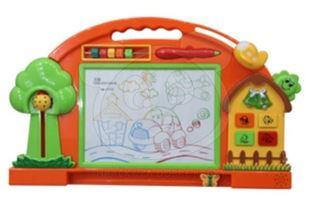 Obrázek Barevná kreslící tabulka - oranžová