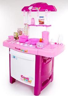 Obrázek Kuchyňka růžová