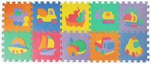 Obrázek Pěnové puzzle - dopravní prostředky