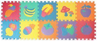 Obrázek Pěnové puzzle - ovoce