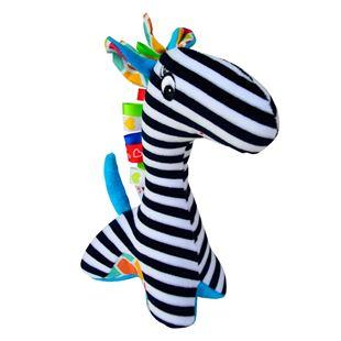 Obrázek Edukační hračka s chrastítkem - Žirafa