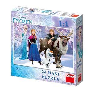 Obrázek Puzzle 24 dílků maxi FROZEN Elza a přátelé