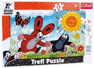 Obrázek Puzzle v rámu Krteček