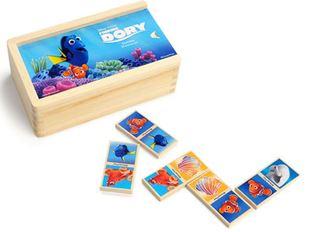 Obrázek Dřevěné domino - kde je Dory