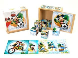 Obrázek Dřevěné kostky - Mickey