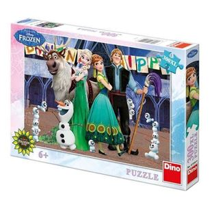 Obrázek Puzzle 300 dílů FROZEN narozeniny