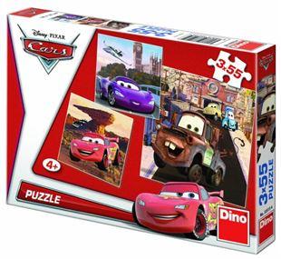 Obrázek Puzzle 3x55 dílků Cars