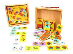 Obrázek Dřevěné domino - Velké