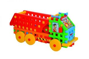 Obrázek Skládačka - Vyklápěcí vůz