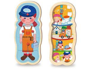 Obrázek Dřevěná vkládačka - Holčička