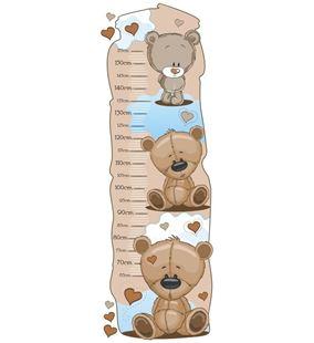Obrázek Metr na stěnu - Medvídci