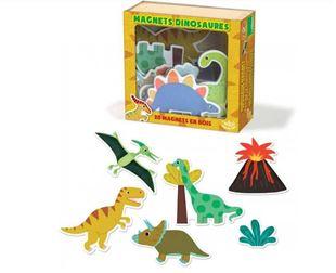 Obrázek Dřevěné magnetky Dinosauři - 20ks