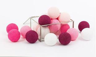 Obrázek Svítící kuličky - Sweet pink