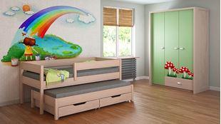 Obrázek Dětská postel s přistýlkou - Junior - 200x90cm