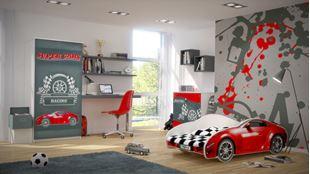 Obrázek Dětská postel - AUTO