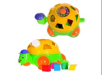 Obrázek z Vkládací edukační hračka - Želva