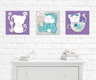 Obrázek Dětský obraz - Miau Miau II