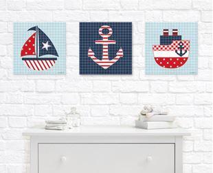 Obrázek Dětský obraz - Námořnický