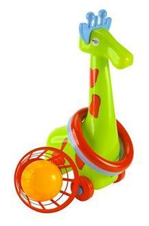 Obrázek z Žirafa s kroužky a košíkem