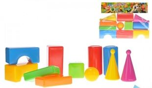 Obrázek Plastové kostky - 11 kusů