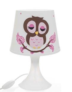 Obrázek Dětská lampička - Sovičky