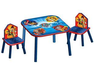 Obrázek Dětský stůl s židlemi Tlapková patrola Paw Patrol