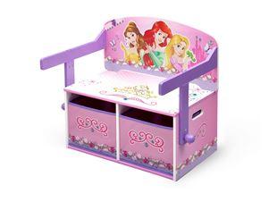 Obrázek Dětská lavice s úložným prostorem Princess