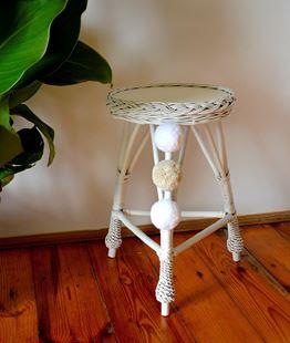 Obrázek Proutěný stoleček kulatý