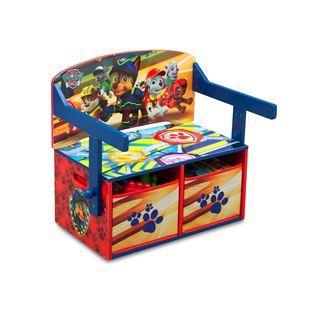 Obrázek Dětská lavice s úložným prostorem Tlapková patrola
