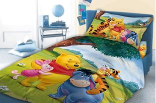 Obrázek Dětské povlečení Medvídek Pú 033 - 100 x 135