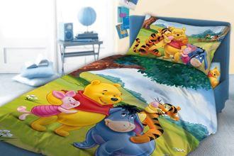 Obrázek z Dětské povlečení Medvídek Pú 033 - 100 x 135