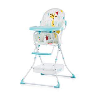 Obrázek CHIPOLINO Dětská jídelní židlička Maggy -  modrá