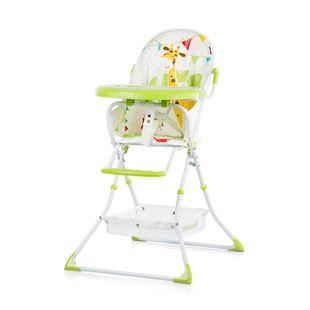 Obrázek CHIPOLINO Dětská jídelní židlička Maggy -  limetková