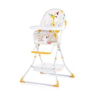 Obrázek CHIPOLINO Dětská jídelní židlička Maggy - oranžová