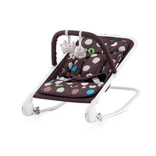 Obrázek CHIPOLINO Dětské lehátko Baby Boo - chocolate