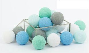 Obrázek Svítící kuličky - Mint pastel