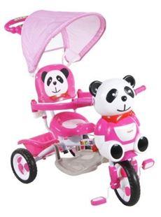 Obrázek Dětská tříkolka s vodící tyčí Arti - Panda