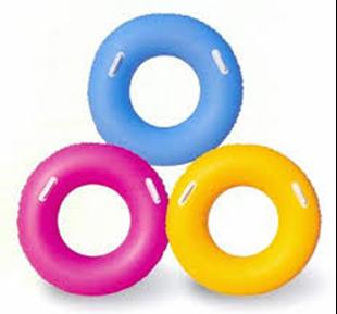 Obrázek Nafukovací kruh s úchyty