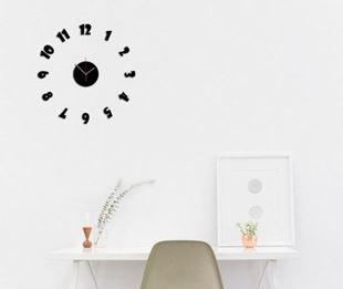 Obrázek Nalepovací nástěnné hodiny - Showgot