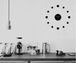 Obrázek Nalepovací nástěnné hodiny - Laser tag
